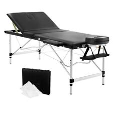 Portable Aluminium 3 Fold Massage Table 75cm