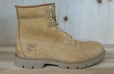 TIMBERLAND 6INCH WATERPROOF BASIC BOOTS WHEAT MEN SZ 12-13  10066 L