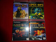Empty Cases! Spec Ops Ranger Elite Stealth Patrol Covert Playstation PS1 PS2 PS3