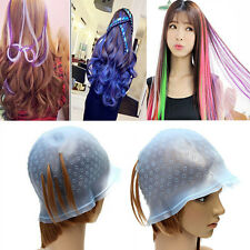 Brand New Reusable Silicone Hair Coloring Highlighting Dye Cap Hair Styling Tool