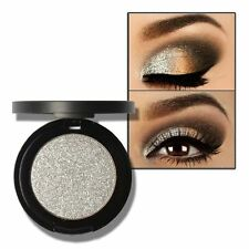 Lady Shimmer Press Powder Eyeshadow Glitter Long Lasting Metallic Eyeshadow