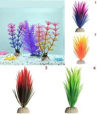 Ornament Aquarium Plant Decor Plastic Water Grass Aquatic Plant Fish Tank Funny