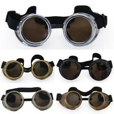 Vintage Goggles Steampunk Glasses Rustic Cyber Welding Goth Cosplay Punk Props