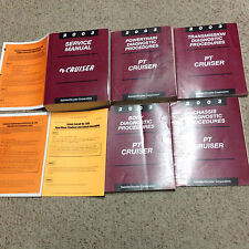 2003 CHRYSLER PT CRUISER Repair Shop Service Manual Set W Diagnostics + Recall P