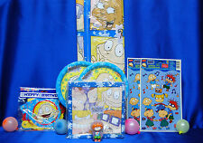 Rugrats Party Set # 11+ Rugrats Party Supplies Tablecover PLates Napkins Candle