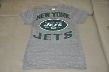 NWOT New York Jets Men's Gray Shirt (S) Small T-Shirt Polo Hat Jersey NFL