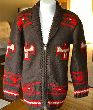 Northwest Cowichan Hand Knit G.W.North Sweater