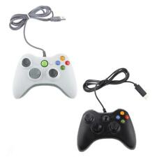 Game Controller Joystick Gamepad for PC Laptop 2.5Meter USB Cable White/Black