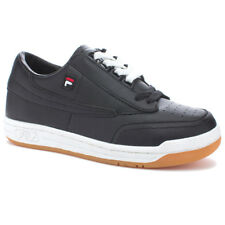 "FILA ""Original Tennis"" Sneakers (Black/White/Gum) Men's Athletic Retro Shoes"
