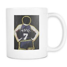 Pete Maravich - The Pistol Basketball White Mug