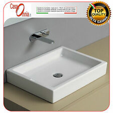 """LAY ON OR WALL MOUNTED WASHBASIN - NIC DESIGN """"CANALE"""""""