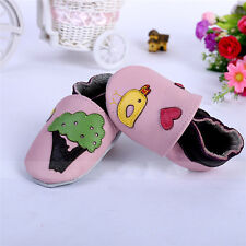 0-18M Baby Kids Leather Soft Sole Leather Shoes Infant Boy Girl Toddler Shoes