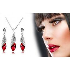 Austrian Crystal Earring and Necklace Set