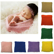 Newborn Baby Photography Photo Prop Stretch Knitted Blanket Rayon Wraps Hammock