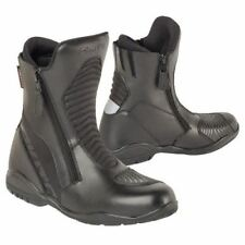 Akito Scout Motorcycle Waterproof Boots Black Motorbike Breathable Boot New