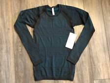 Lululemon About That Base LS BLK/FORT NWT Yoga Workout Run 4 6 8 10 12