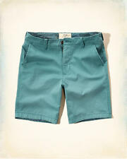 NWT men Hollister By Abercrombie Classic Fit  shorts size 36 Teal
