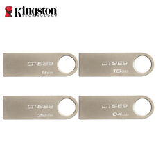 Kingston DTSE9 Pen Drive USB 2.0 Flash Drive Mental Ring 4GB-64GB Memory Stick