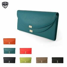 Ladies Genuine Leather Purse Womens Real Wallet Clutch Credit Card Coins New