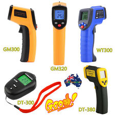 9 Type Non-Contact LCD IR Laser Infrared Digital Temperature Thermometer Gun AA