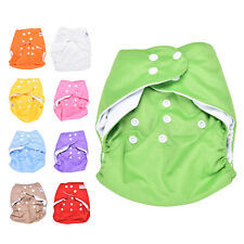 Sweet New Alva Reusable Baby Washable Cloth Diaper Nappy +1INSERT pick color ON