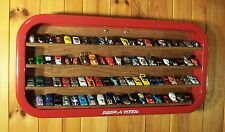 Hand Made Wall Mount Hot Wheels & 1:25 Models Display In Radio Flyer Wagon Bed