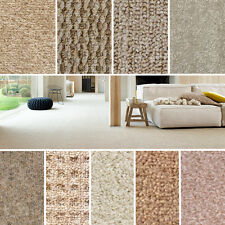 Quality Beige Carpets - Cheap Rolls Brand New Carpet - Loop, Twist, Saxony Piles