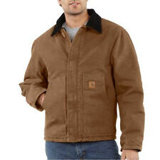 Carhartt Sandstone Duck Arctic Traditional Jacket - Quilt Lined - CARHARTT BROWN