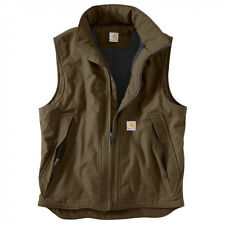 Carhartt Jefferson Quick Duck® Vest - Quilt Lined - CANYON BROWN