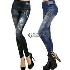 Fashion Women Skinny Jeans Look Leggings soft Stretchy Pants Sexy Jeggings TXGT