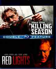 Robert De Niro Double Feature: Killing Season & Red Lights (Blu-ray, 2015) R