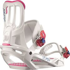 Salomon - Spell | 2017 - Womens Snowboard Bindings | White