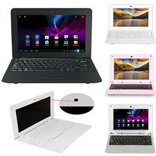 """CHEAP 10"""" 1024*600 Android4.4 Dual Core Laptop Camera WiFi Netbook Notebook 4GB"""