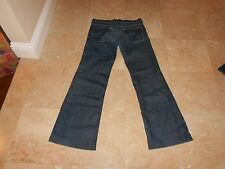Authentic Seven 7 for all Mankind Distressed DOJO Flare Jeans, Size 29  $198