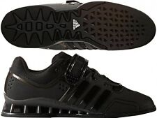 MENS ADIDAS ADIPOWER WEIGHTLIFTING / POWERLIFTING SHOES - ALL BLACK EDITION