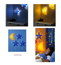 IKEA Kids Wall Lamps SMILA Assorted Colors, LEDARE Bulbs Clear or White
