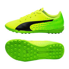 Puma 2017 Junior evoSpeed 17.5 TT Soccer Shoes Football Cleats Green 104035-01
