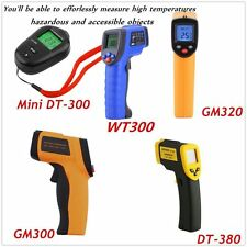 8 Type Non-Contact LCD IR Laser Infrared Digital Temperature Thermometer Gun QW