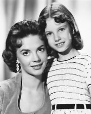 Natalie Wood and Lana Wood B&W Poster or Photo