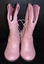 NEW Toddler Girls Pink COWBOY Boots Size 6 7 8 9 Falls Creek COW GIRL Zipper