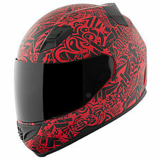 Speed and Strength SS1200 United By Speed Matte Red Full Face Helmet