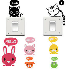 2x Removable Switch Sticker Vinyl Art Mural Decal Home Wall Window DIY Decors ON