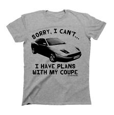 Sorry..I Have Plans With My COUPE Fiat Mens CAR T-Shirt Retro Classic