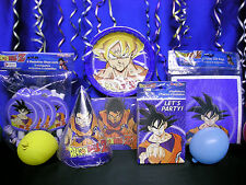 DragonBall Z Party Set # 9 DragonBall Z Party Supplies Choose Your Cake Topper