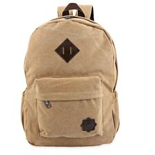 Fashion Retro Backpack Rucksack Laptop Shoulder Travel Camping Bag