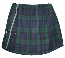 Blackwatch Tartan Mini Kilt Burns Night Ladies' Scottish Fancy Dress
