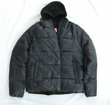 NEW NIKE  2 N 1 WOMENS BLACK  DOWN FILL JACKET & FLEECE VEST SIZE L BNWT