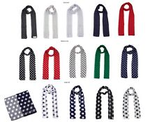Women Classic Chiffon Polka Dot Scarf -Scarves Soft Long  Neck Scarf Wrap Stole