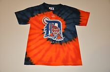 NWOT Detroit Tigers Youth Kids Tie Dye T-Shirt (S) Small Shirt Jersey Hat Polo