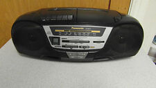 Panasonic RX-DS12 Portable CD/Radio/Cassette Player